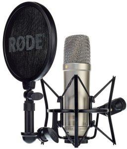 Studio microfoon Stralende stem